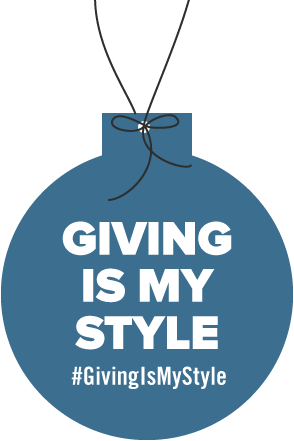 image of giving is my style hangtag