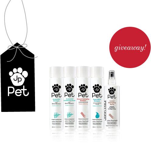 image of john paul pet giveaway
