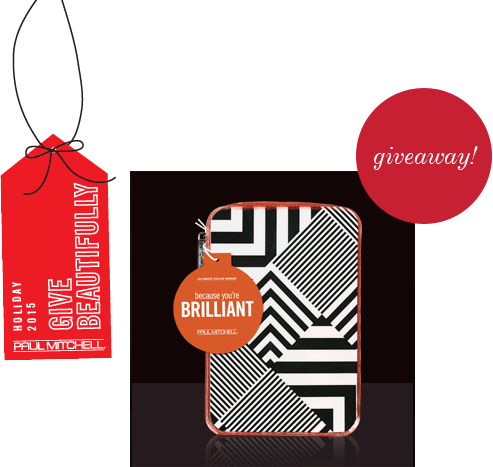 image of paul mitchell holiday gift set giveaway