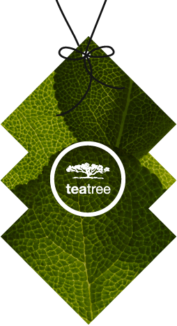 image of tea tree brand hangtag